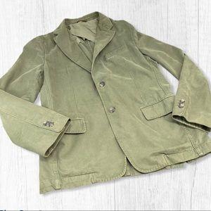 Banana Republic brushed cotton sports coat